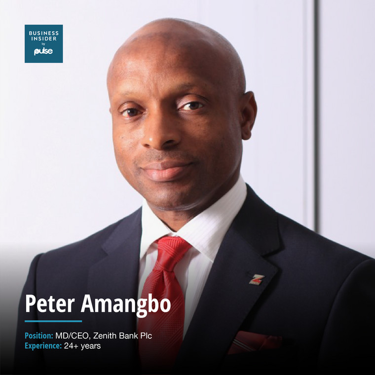 Peter AmangboMD/CEO, Zenith Bank Plc