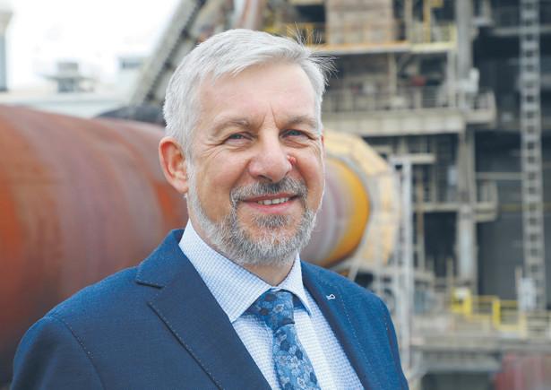 Krzysztof Kieres, przewodniczący Stowarzyszenia Producentów Cementu