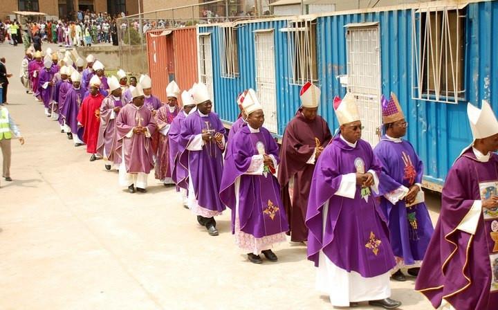 A Catholic Church in Nigeria (Punch)