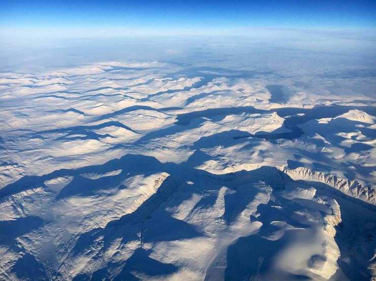grenland sneg led
