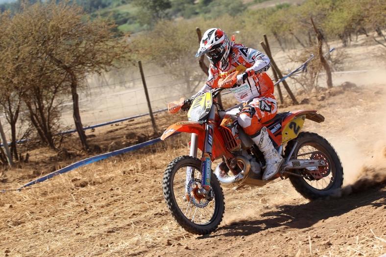Christophe Nambotin na motocyklu KTM