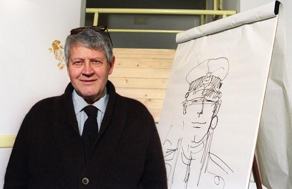 Hugo Prat, legendarni tvorac još legendarnijeg strip-junaka Korta Maltezea.