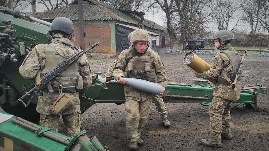 Ukraińskie oddziały na wschodzie kraju