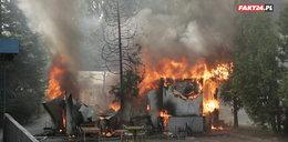 Pożar przy Domaniewskiej w Warszawie! Spłonęła wietnamska restauracja