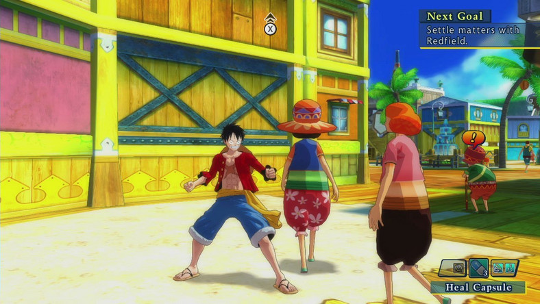 Galeria One Piece: Unlimited World Red