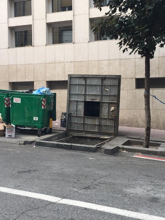 Otvoreni kontejneri na ulicama Beograda