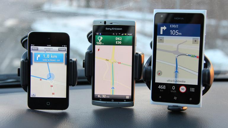 Darmowa nawigacja w telefonach: Czyli, nawigacja prawie za darmo