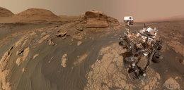 Niezwykłe selfie z Marsa. Łazik Curiosity nie daje o sobie zapomnieć