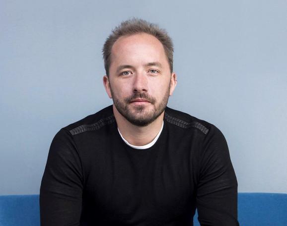 Dru Hjuston, izvršni direktori  osnivač kompanije Dropbox