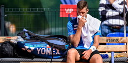 Turniej ATP w Kitzbuehel. Hubert Hurkacz odpadł w pierwszej rundzie debla