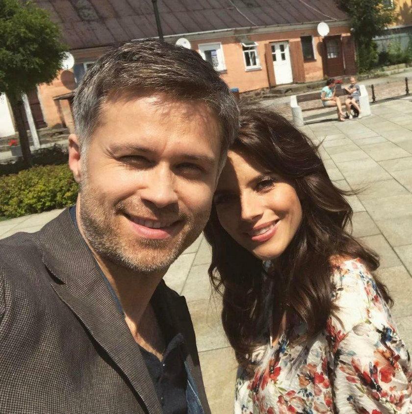 Maciej Zakościelny i Weronika Rosati