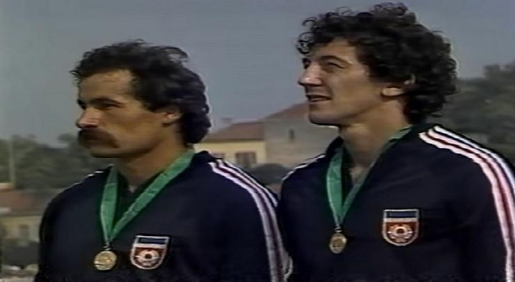 Matija Ljubek i Zemunac Mirko Nišović