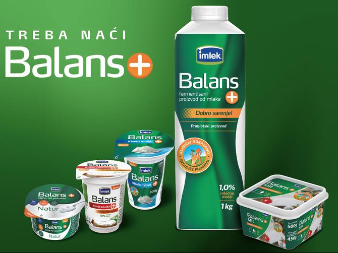 Novi Balans+ proizvodi – za sve koji vode računa o zdravoj ishrani