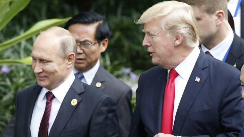 Putin i Trump na szczycie APEC