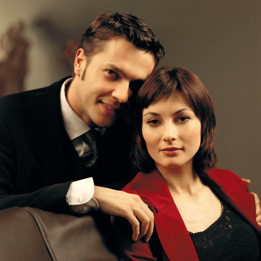 Ilona Wrońska i Robert Kudelski
