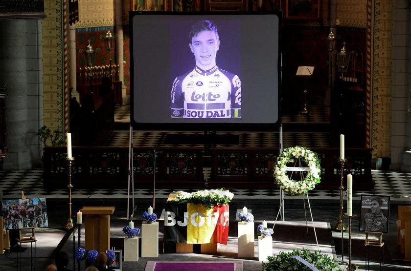 Tłumy żegnały kolarza, który zginął na Tour de Pologne