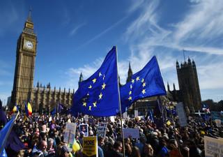 Unite for Europe: Brytyjczycy protestują przeciwko Brexitowi