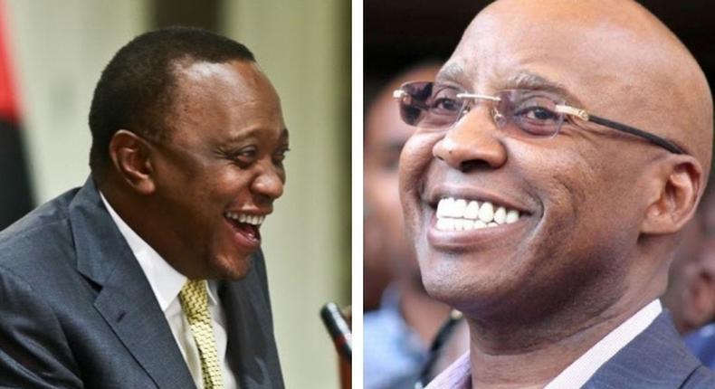 Uhuru's short career as an actor at Kenya National Theatre – performing with Jimi Wanjigi