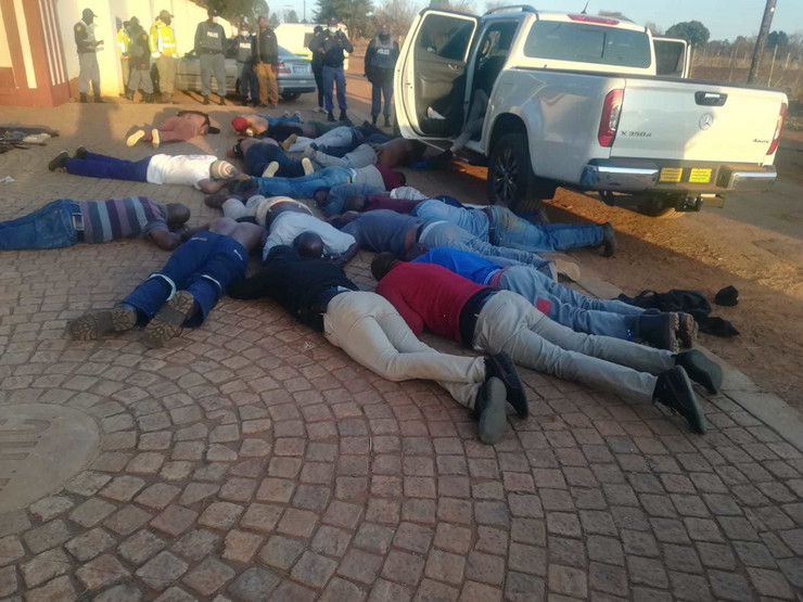 Johanesburg, talačka kriza, crkva