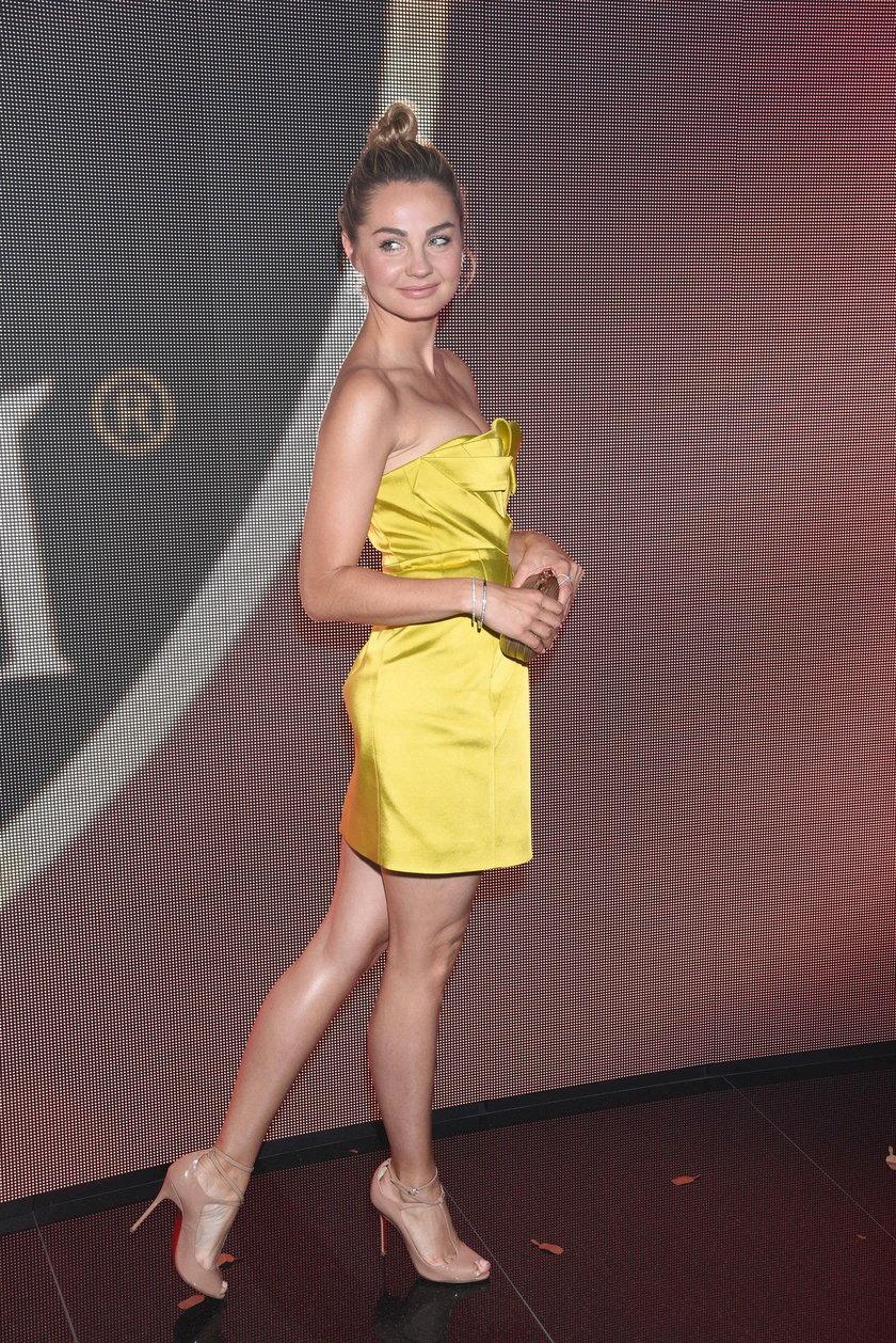Małgorzata Socha na imprezie