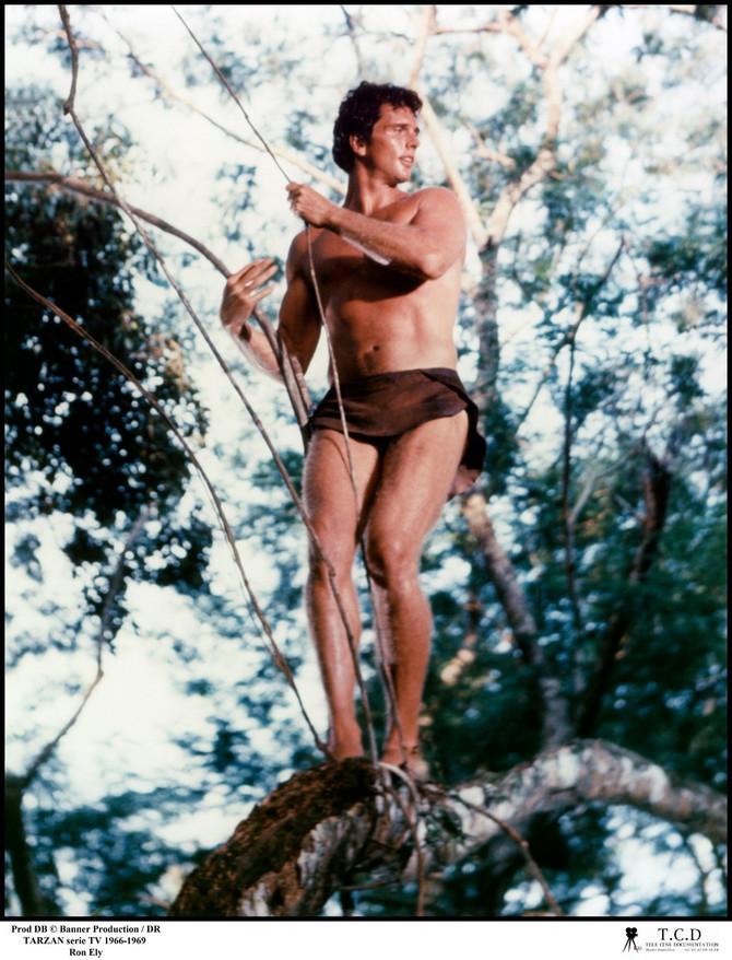 Ron Eli pre nekoliko decenija u ulozi Tarzana