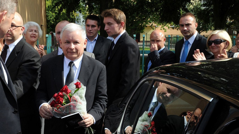 Jarosław Kaczyński, tak jak cztery lata temu, jedynką PiS w Warszawie