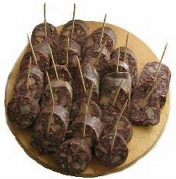 Śląsk też ma swoje tradycyjne produkty - tu krupniok śląski.