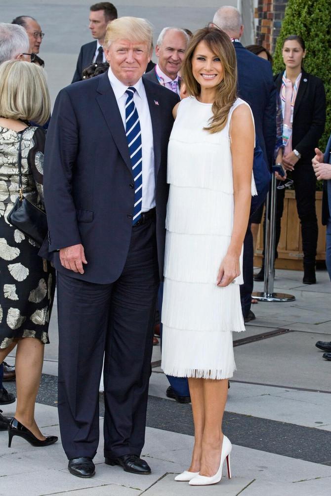Melanija i Donald 2018. u Hamburgu