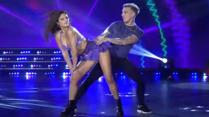 """Pół-Polak El Polaco na parkiecie programu """"Taniec z gwiazdami"""" w Argentynie"""