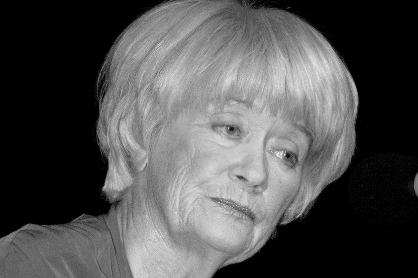 Alina Janowska nie żyje