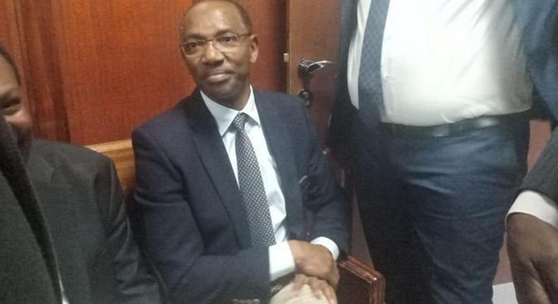 Flying squad officers arrest billionaire Humphrey Kariuki, moments after paying Sh11 million bail