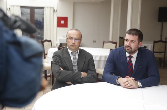 Bojan Radovanović i advokat Edvin Prelić