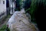 Mirijevski potok za vreme poplava