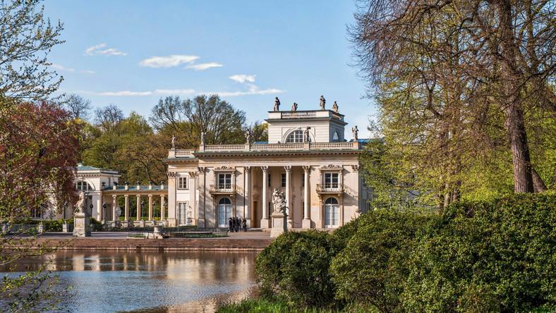 Cba Kontroluje Muzeum łazienki Królewskie W Warszawie Warszawa