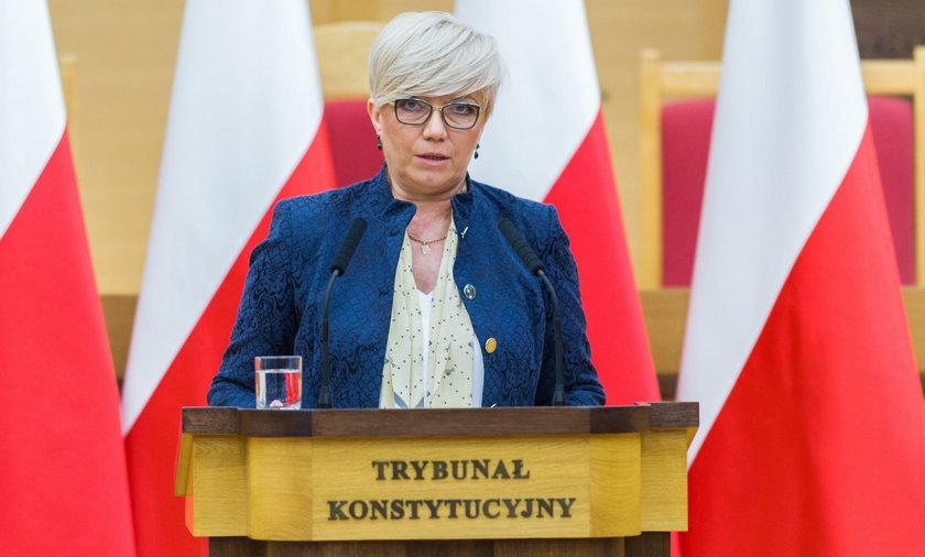 Julia Przyłębka: autorami orzeczeń wraz z uzasadnieniami są wyłącznie sędziowie Trybunału