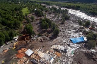 Chile: 11 ofiar śmiertelnych osunięcia ziemi na południu kraju