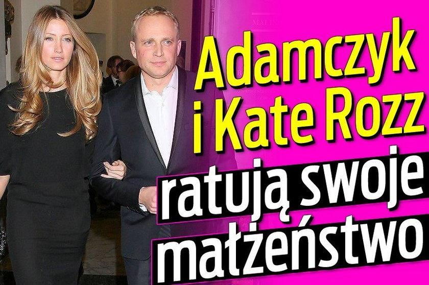 Adamczyk i Rozz ratują małżeństwo