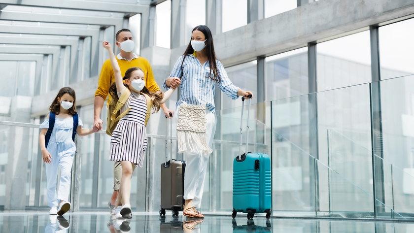 Podróże w pandemii.