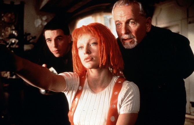 Mila Jovović u filmu Peti element