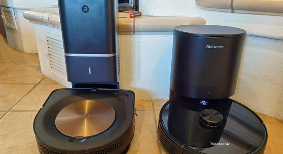 Roboter mit Absaugstation: Roomba S9+ vs. Proscenic M7 Pro