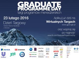 GraduateProgramme Day: Ruszyły Targi Programów Menedżerskich