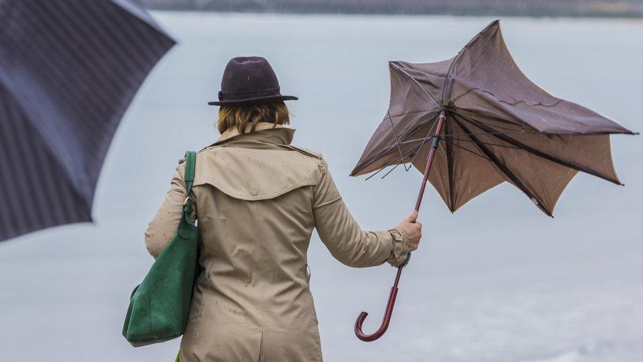 Mieszkańcy nadmorskich miejscowości będą musieli uważać na porywisty wiatr