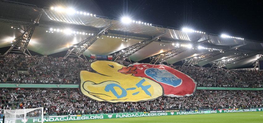Fani Legii przygotowali dla UEFA obraźliwy rebus. Szykują się kolejne kary?