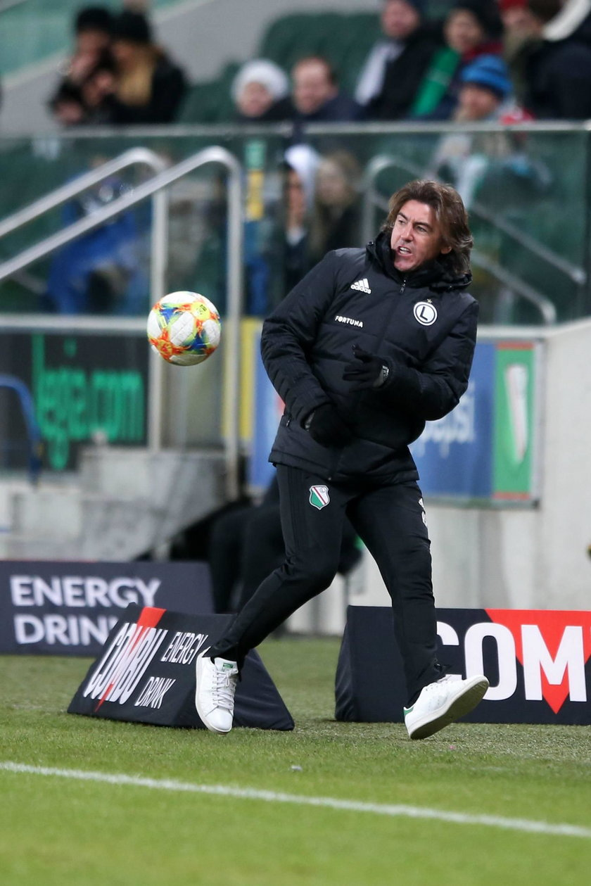 Pilka nozna. Ekstraklasa. Lech Poznan - Legia Warszawa. 23.02.2019