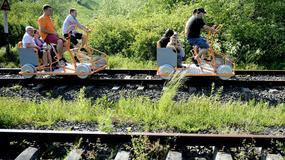Już prawie 26 tys. osób jeździło po Bieszczadach drezynami rowerowymi