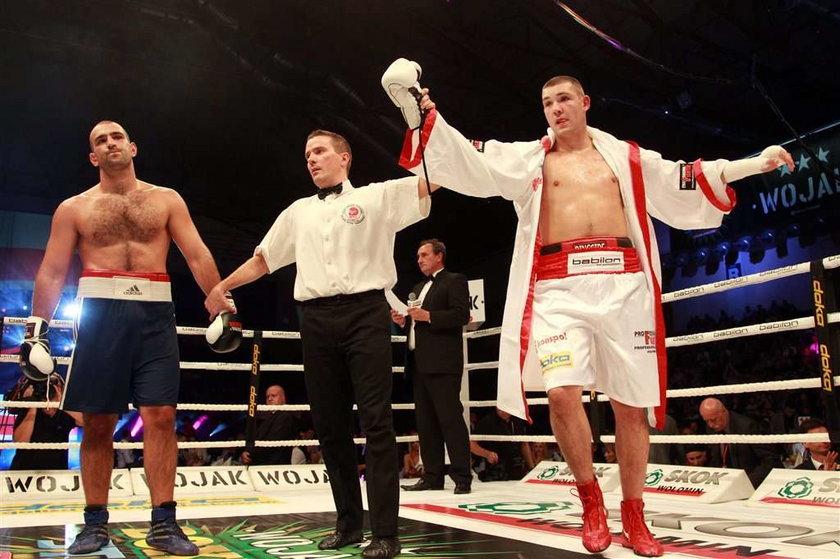 Gala Wojak Boxing Night