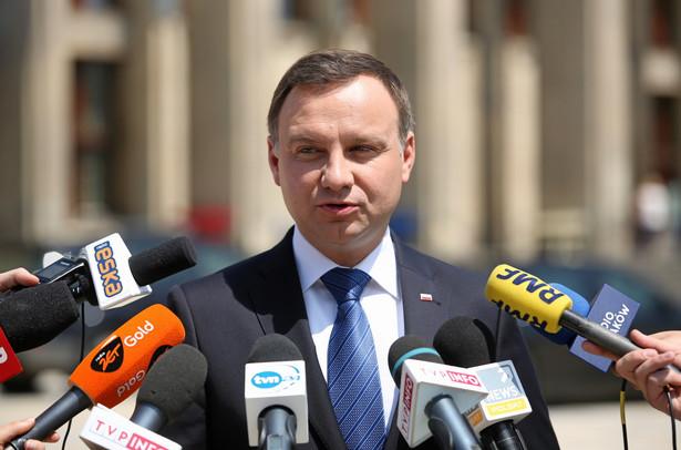 Prezydent Duda już w piątek uspokajał: – Polska jest bezpieczna – mówił