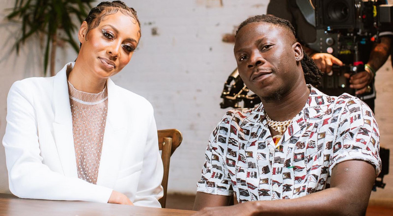 Stonebwoy's new song with Keri Hilson shows up in Billboard chart