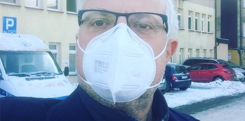 """Korespondent """"Faktów"""" nie kryje zaskoczenia tym, co spotkało go w polskim szpitalu"""