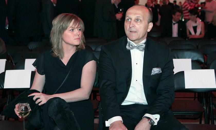 Izabela i Kazimierz Marcinkiewiczowie w 2012 r.